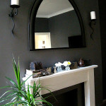 Cheap & Easy Before & After:  Dining Room Mantle
