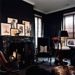 Going Dark:  Dining Room Inspiration