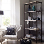 Industrial Chic:  Reclaimed Wood & Pipe Shelving Unit