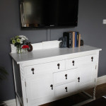 Before & After: White Painted Sideboard Revealed!