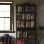 Industrial Chic:  Wheeled Iron Shelves