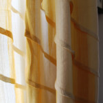 Filtered Light:  Bedroom Curtains from Anthropologie
