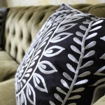 Contrasts: Embroidery and Tufting, Black and White