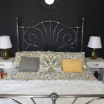 Tales from the Darkside:  Black Walled Bedroom