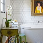 On The Tiles:  Using Pattern and Colour in the Bathroom