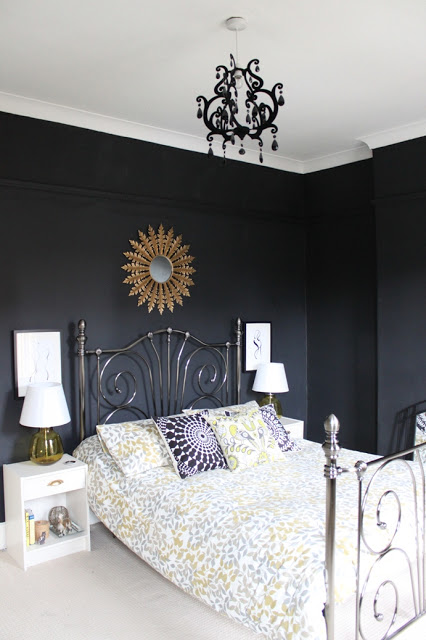 Rebel Rebel:  Bedroom Back to Black