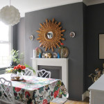 Sunburst Mirror:  More Dining Room Updates