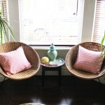 Take A Seat:  Announcement #2 (in which I talk, amongst other things, about my Living Room)