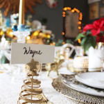 A Swoon Worthy Christmas Part III:  The Christmas Tablescape