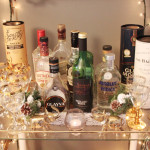 A Swoon Worthy Christmas Part 1:  The Vintage Bar Cart