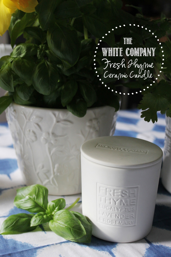 Looking for some new candles to add to your collection? Take a look at what I thought about The White Company candles in the Fresh Thyme scent.