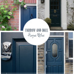 Front of House:  Gettin' my Farrow & Ball On (the door that is)