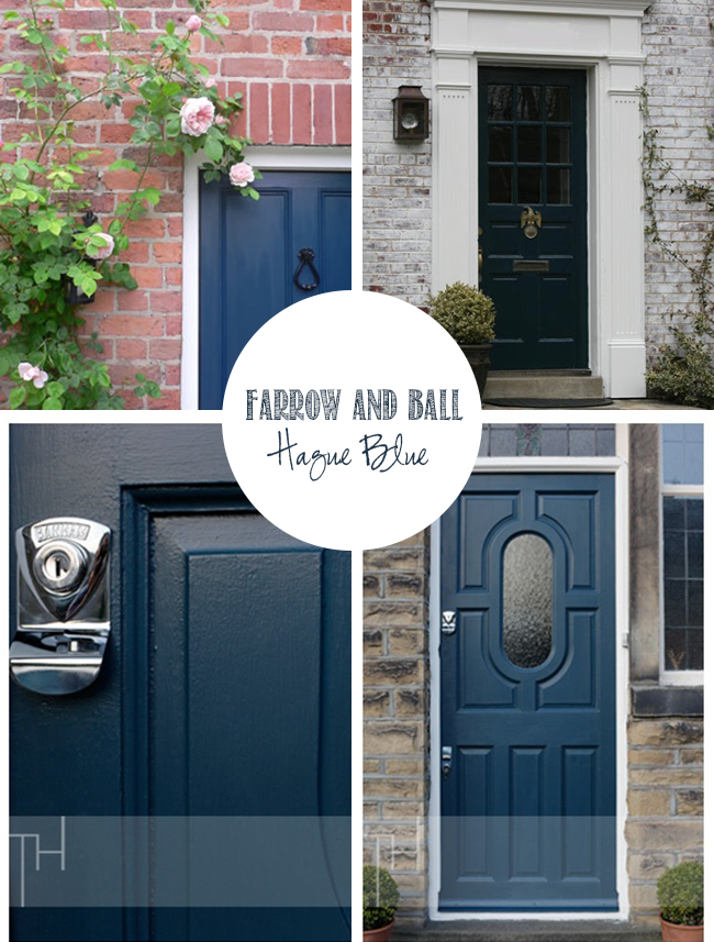 undefined & Front of House: Gettin\u0027 my Farrow \u0026 Ball On (the door that is ...