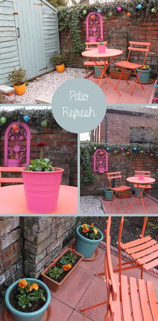 Dreams vs Reality:  Patio Refresh and Inspiration
