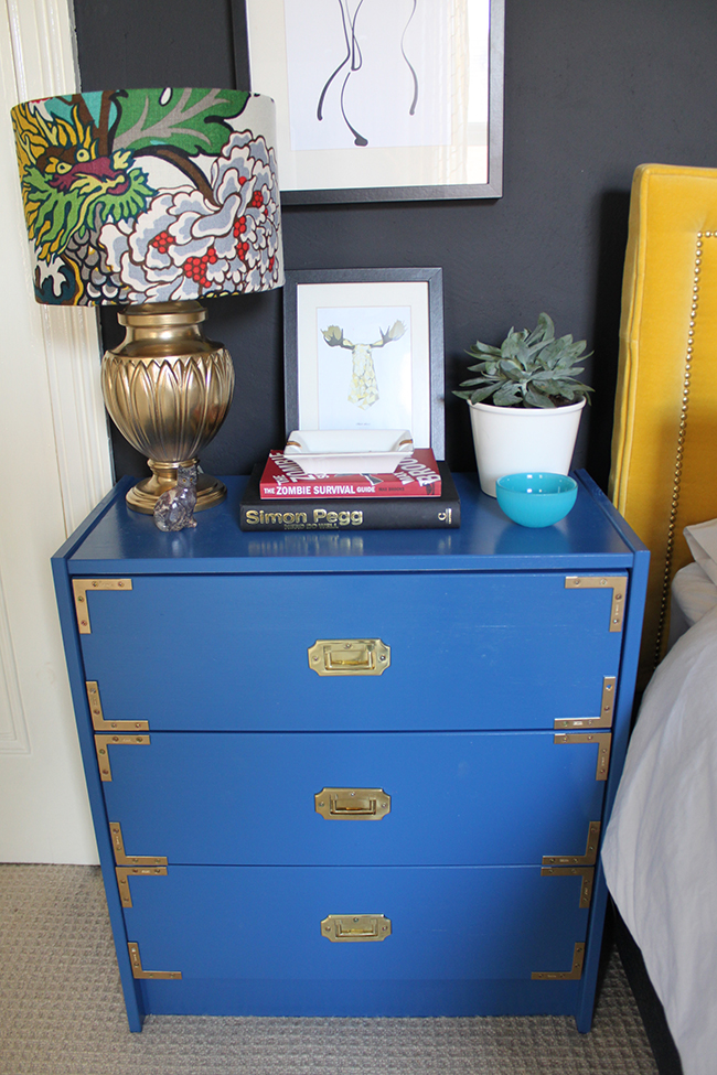 Ikea Rast Hack:  Campaign Style in the Bedroom