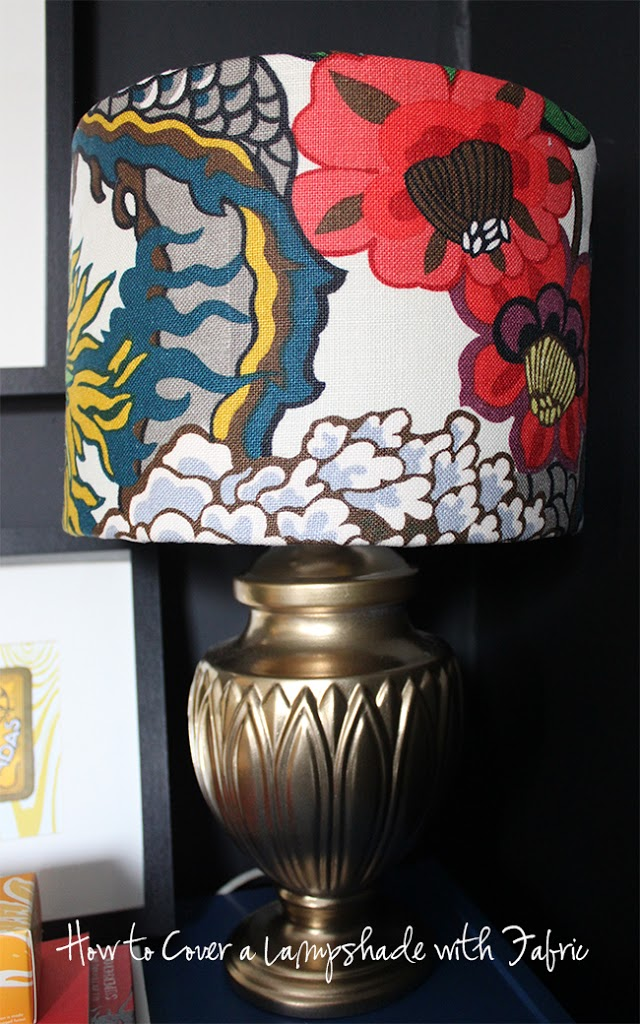 Fancy jazzing up your interiors with some personalised lighting? Check out my easy peasy tutorial on how to make a lampshade cover with fabric.