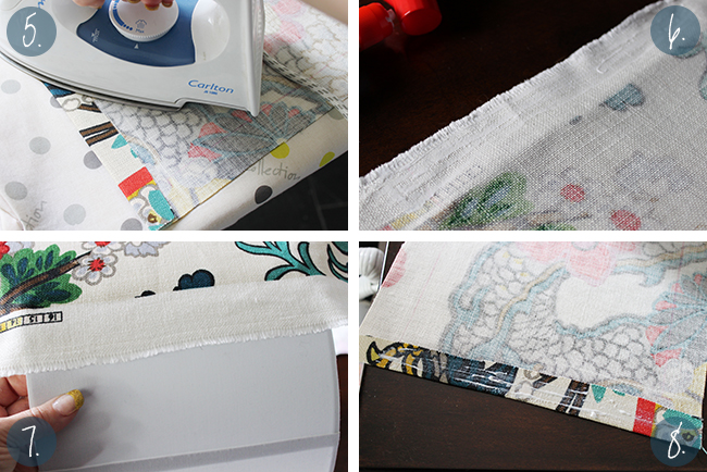 Fancy making your own personalised lampshade? Follow my simple tutorial and find out how to make a lampshade cover with fabric.