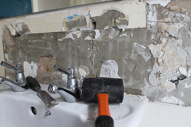 Operation Bathroom Remodel: It's Gotta Get Worse Before It Gets Better