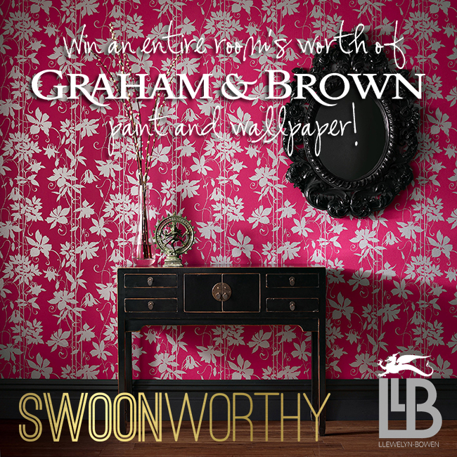 Competition Time: £200 worth of Graham and Brown Paint and Wallpaper!!