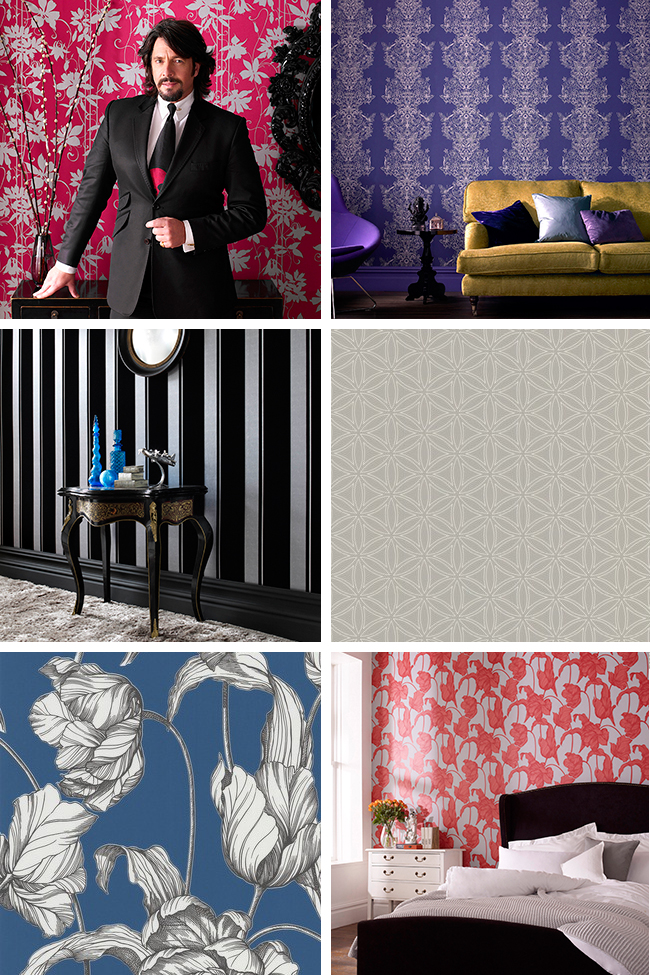 Check Out Some Of The Wallpaper From Very Fabulous Casa Nova Collection
