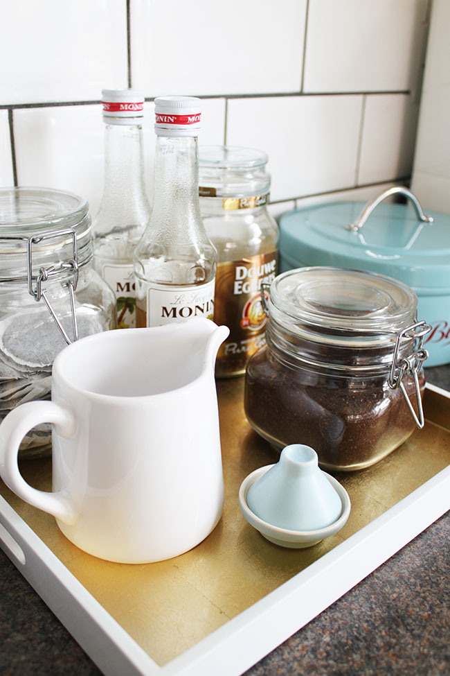 Kitchen Musings: My Little Hot Drink Station