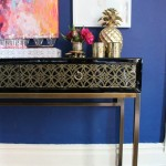Dining Room Glam: My New Console Table!