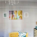 Wallpaper Panel Inspiration:  Plans for the Living Room