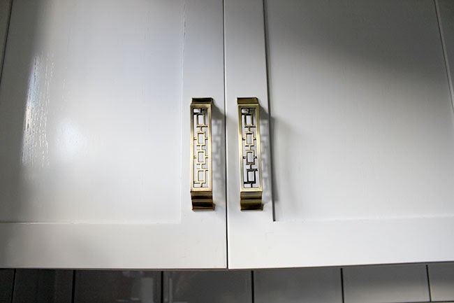 My Shiny New Brass Kitchen Cupboard Handles (and other stuff)