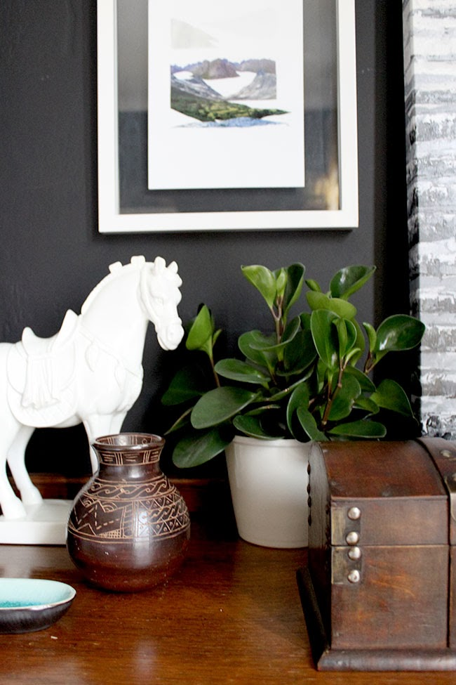 Bedroom Updates:  Collage Art and Habitat Frames