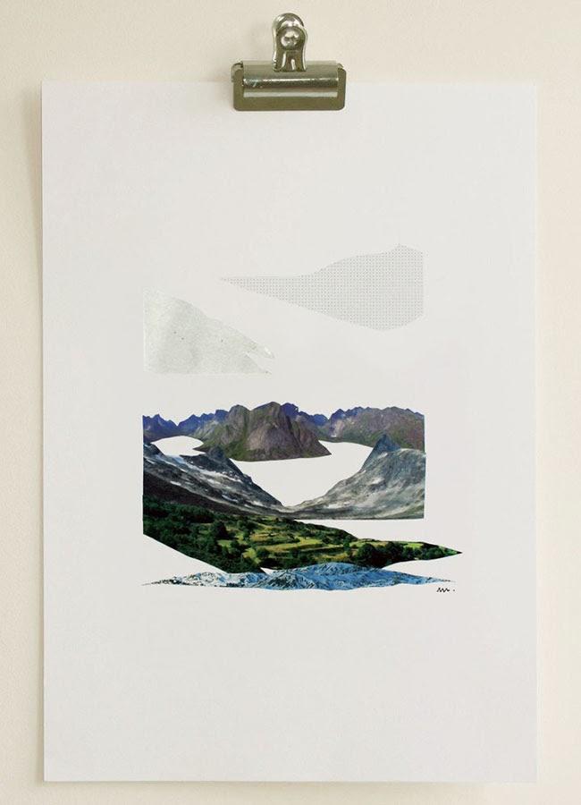 Bedroom Updates: Collage Art and Habitat Frames - Swoon Worthy