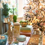 The Obligatory Christmas Tree Pictures – in blush pink, gold and white…