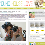I've been House Crashed by John and Sherry of Young House Love!