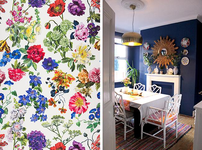 Kitchen Shelving Plans… New Wallpaper!