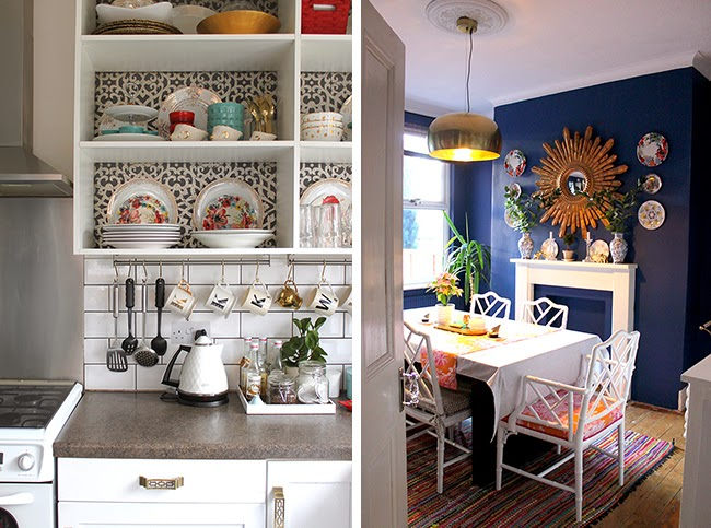 Kitchen shelving plans new wallpaper swoon worthy for Kitchen dining room wallpaper