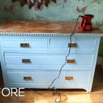 Dressing Room Mini-Makeover: Minty Fresh Chest of Drawers