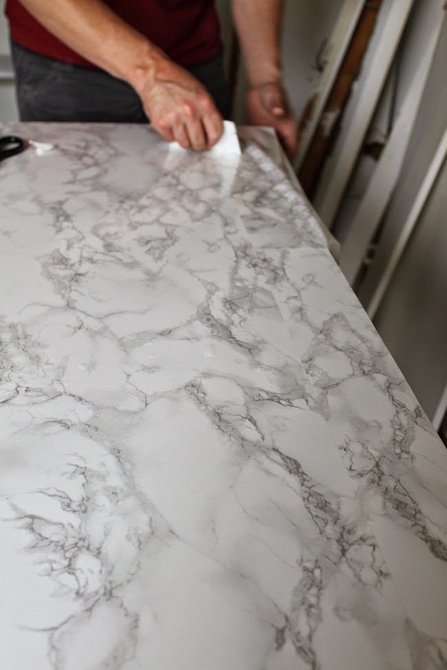 Dressing Room MiniMakeover How To DIY A Carrara Marble Slab For - Fake marble slab