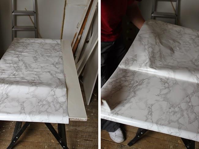 Dressing Room Mini Makeover How To Diy A Quot Carrara Marble