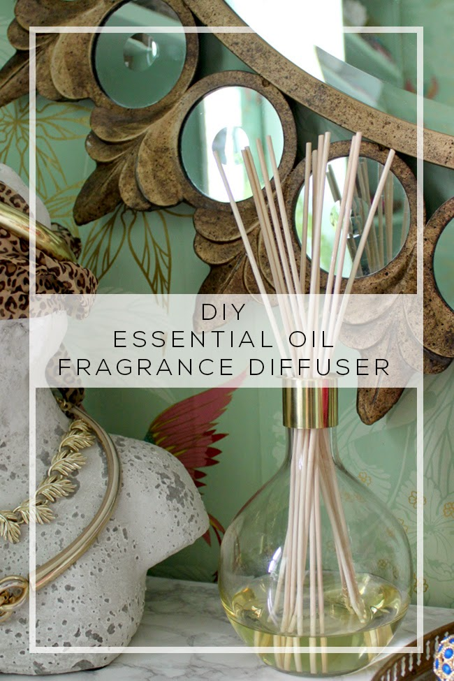 Love filling your home with beautiful scents? Find out how to make a home fragrance diffuser with essential oils by following my simple DIY.