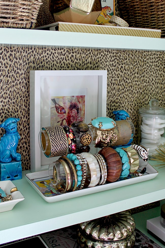 A sneaky peak at my eclectic boho glam dressing room makeover