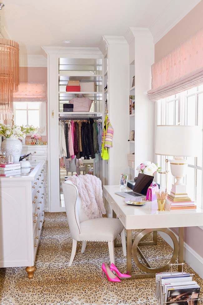 The dreamiest dressing room inspiration from Rachel at Pink Peonies'