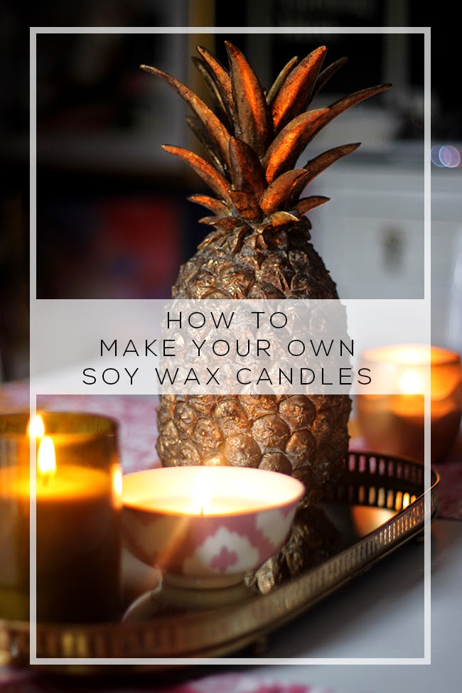 Ever wondered how to make soy wax candles with essential oils at home? Check out my super simple DIY!