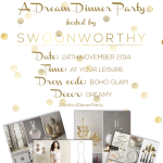 Competition: You're Invited to my Dream Anthropologie Dinner Party!