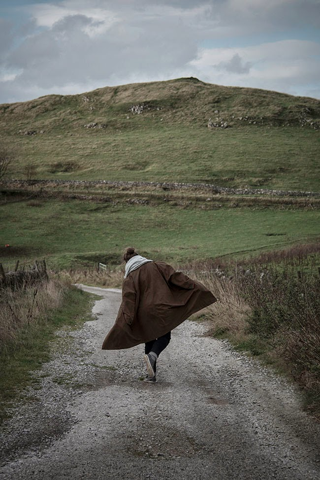 Photoshoot in the Peak District with Mademoiselle Poirot