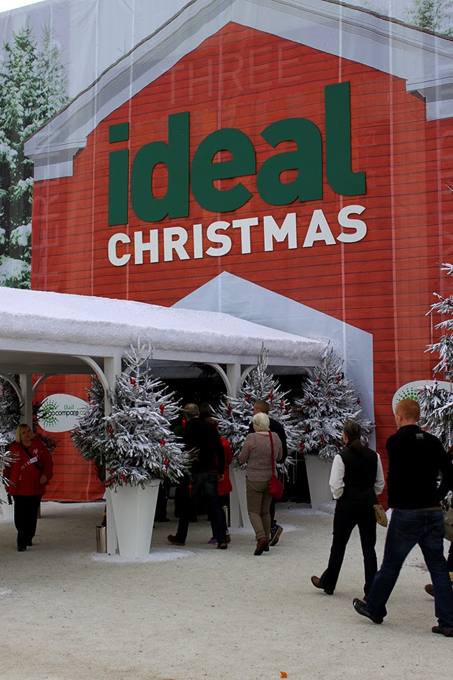 ideal home show manchester christmas event 2014 swoon worthy