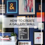 Gallery Wall How To:  10 Tips For Creating a Fabulous Gallery Wall