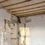 Oh what a feeling… to be ripping down a ceiling (And bonus pretty ceiling inspiration!)