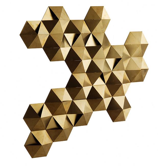 Habitat tessellate wall light