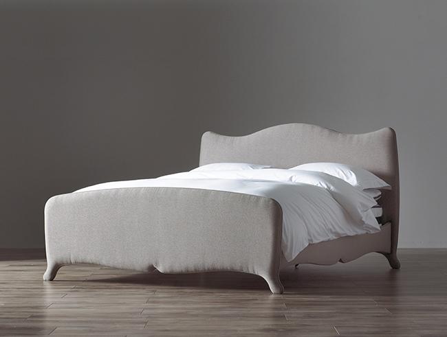 Parisienne boho upholstered bed