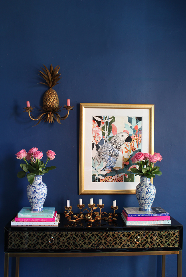 How to Style a Console Table - 1 Console 3 Ways
