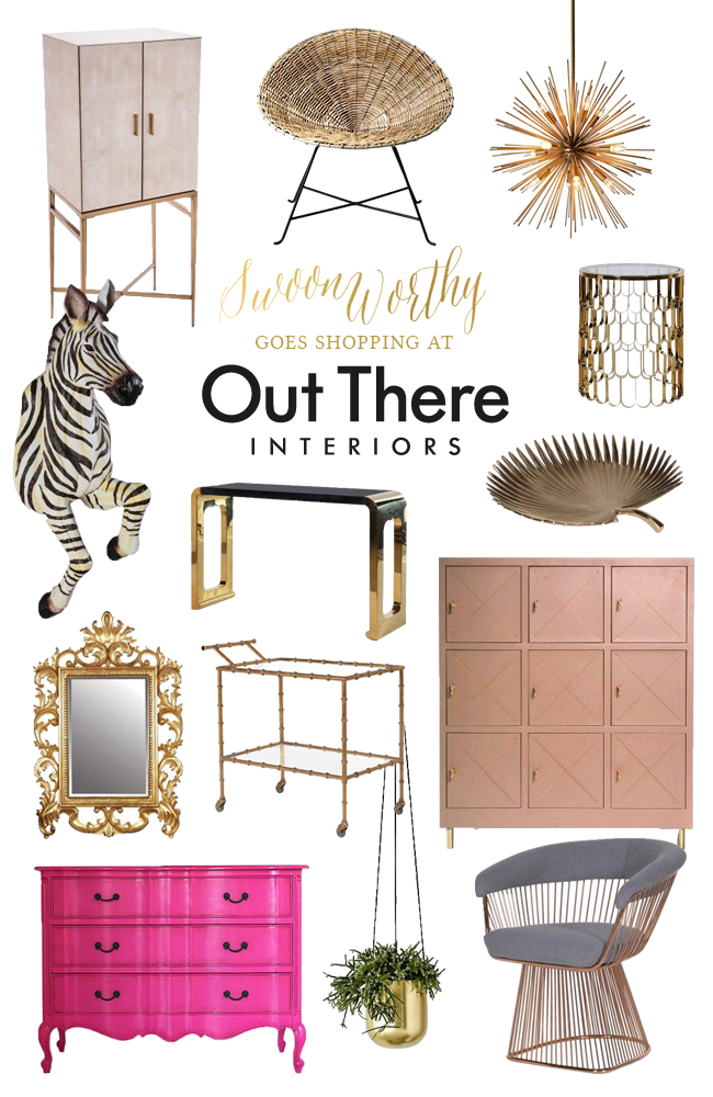 Looking for somewhere new to pick up an amazing array of eclectic, unusual and inspiring items for your home? Check out one of my favourite new finds, Out There Interiors.
